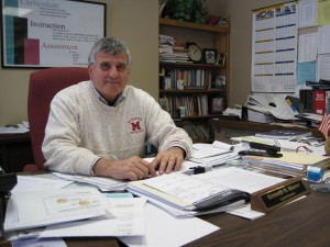 Ken Maurer as MTHS superintendent